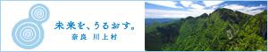 奈良川上村|神秘的な自然(山、川、水、星)体験|ご当地グルメ|未来を、うるおす